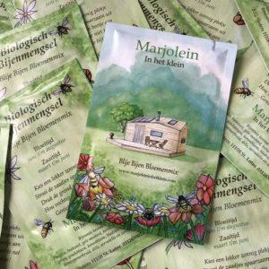 Blije Bijen Bloemenmix Marjolein in het Klein