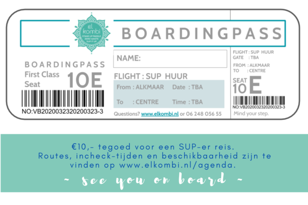 Boardingpass €10
