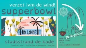 2020830 Supperbowl nieuwe datum stand up paddel alkmaar el Kombi sup