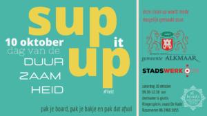 20201010 Sup it Up dag van de duurzaamheid Stand Up Paddle Alkmaar Sup Clean up