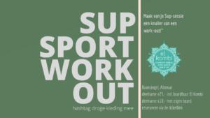 2021 Sup Sport Work Out zonder datum baansingel