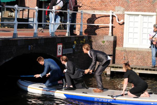 Boardmeeting Megasup Starship EL Kombi Sup Alkmaar