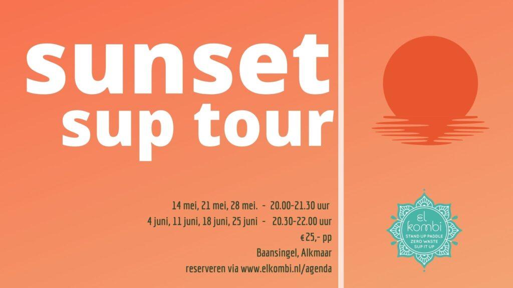 20210500 Sunset Sup Tour El Kombi Sup Alkmaar mei en juni