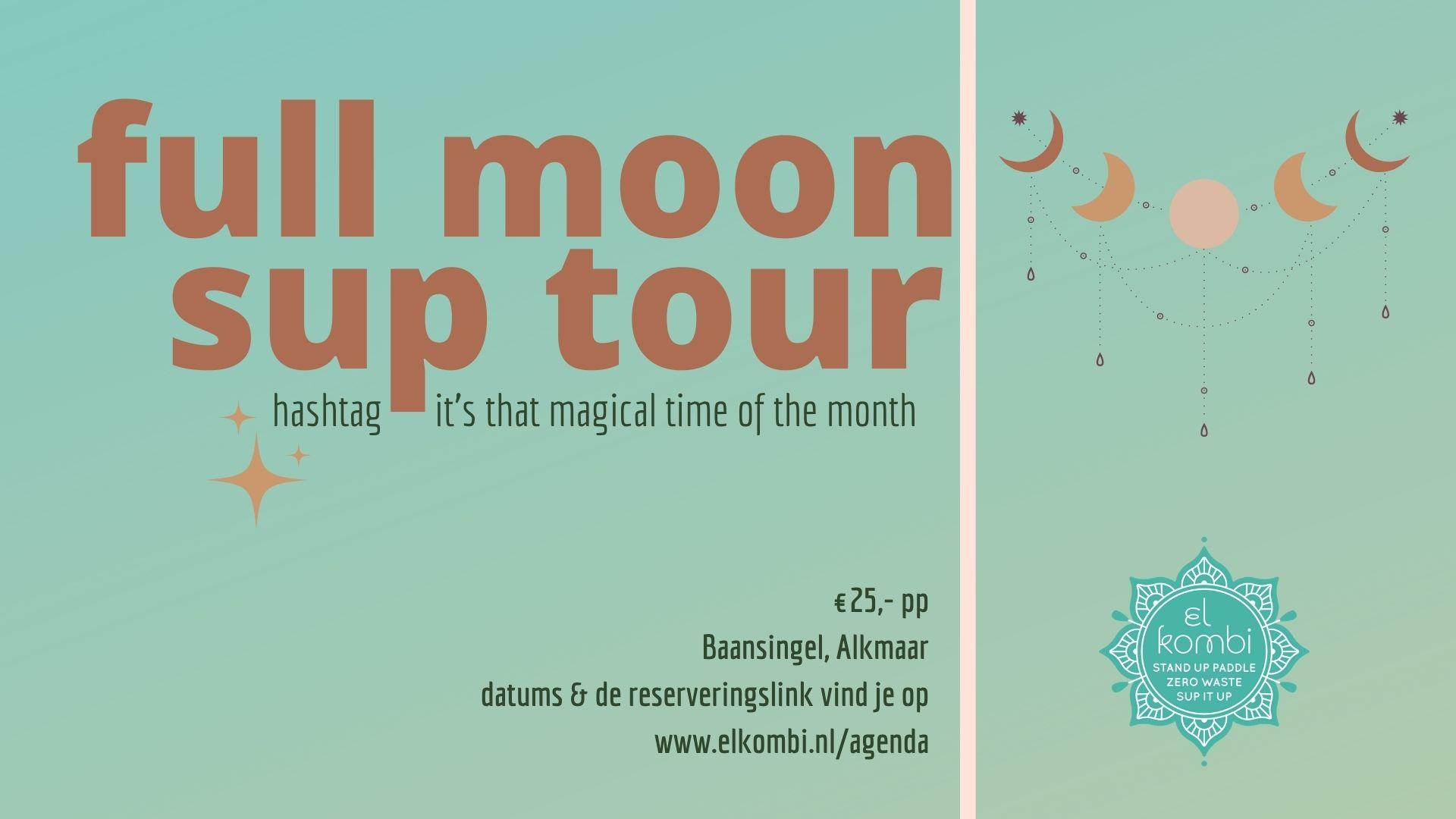 Full Moon Sup Tour El Kombi Alkmaar Algemeen FB