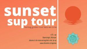 Sunset Sup Tour algemeen El Kombi Baansingel Alkmaar