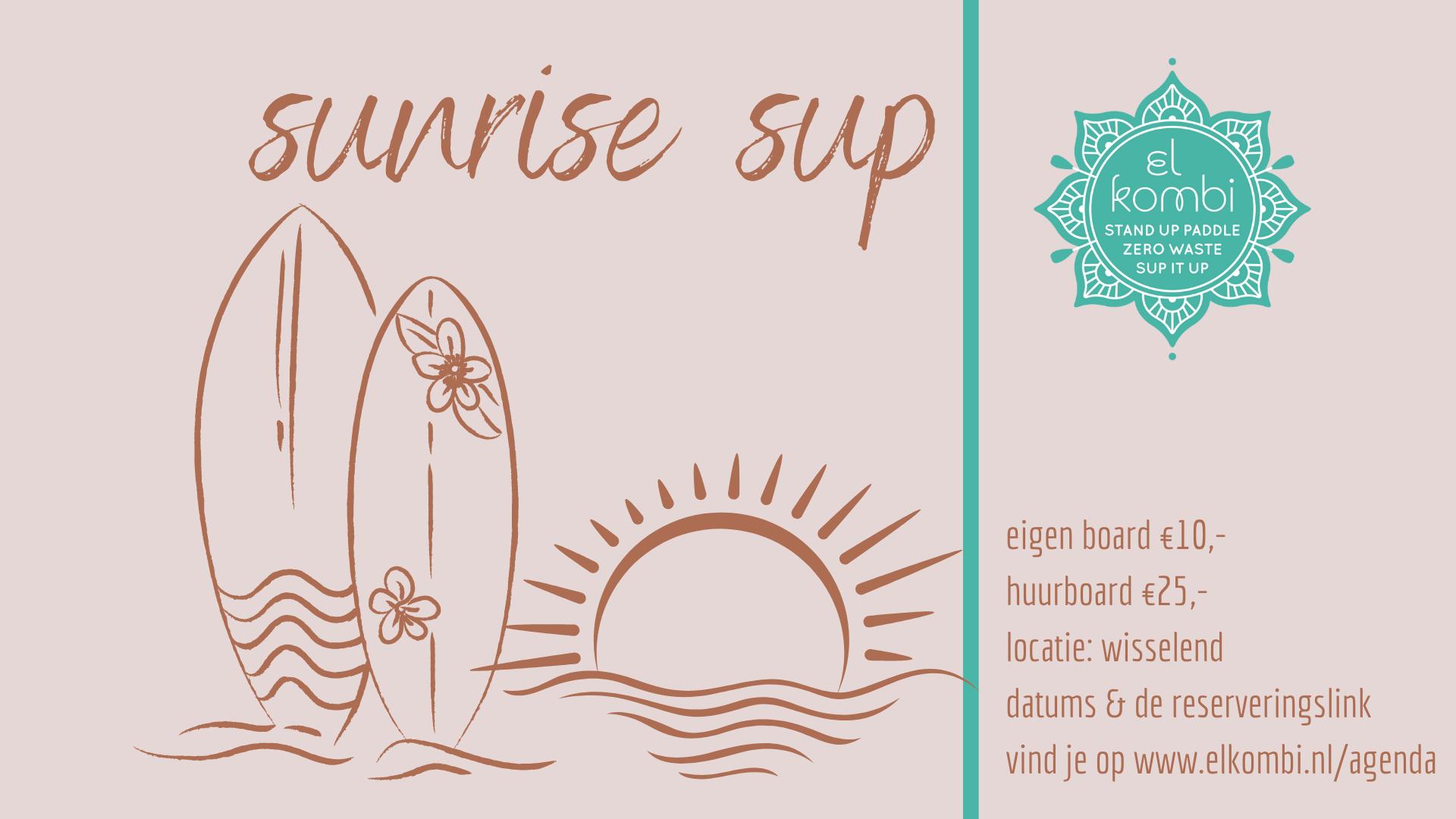 2021 Sunrise Sup Wisselend FB el kombi sup alkmaar