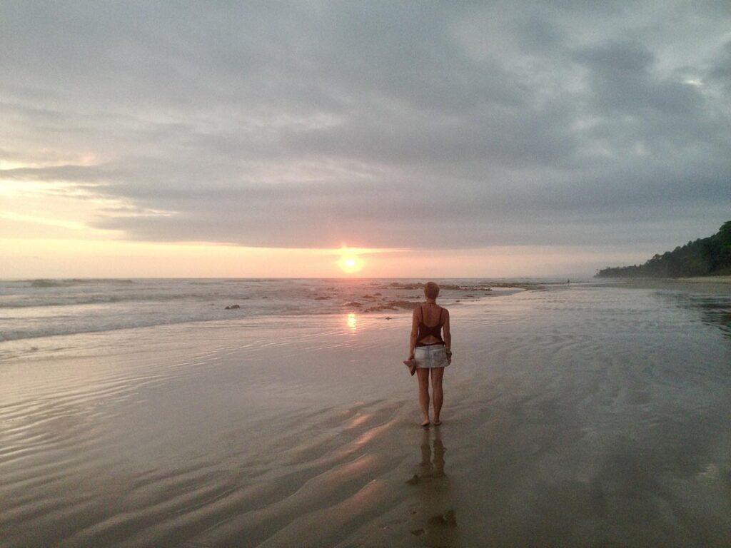 playa hermosa sunset nanda juli 2016