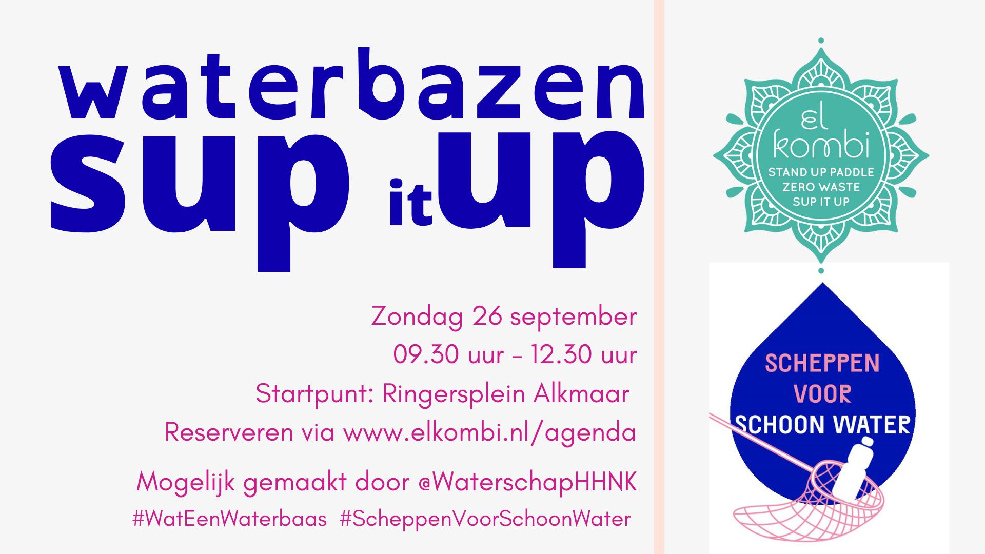 20210926 Sup it UP Waterbazen HHNK FB Suppen Alkmaar El Kombi SUP